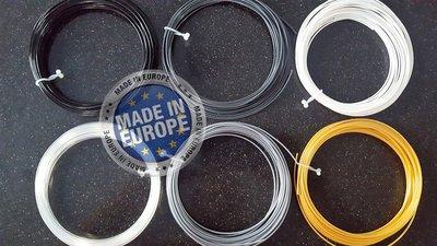 6x 10m - ABS Filament - Shine & Finish (±150g) | GRATIS OPBERGCLIPS!