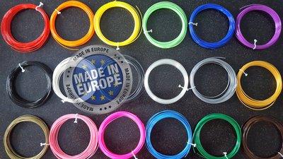 18x 10m - ABS Filament pakket - All Color 3d pen (±0,5kg) |  GRATIS OPBERGCLIPS!