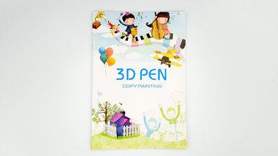 3D Sjablonen boekje | Leer eenvoudig 3D Pen tekenen! (40pagina's)