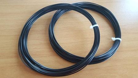 2x10m -PLA Filament zwart voor 3d pen (HQ)