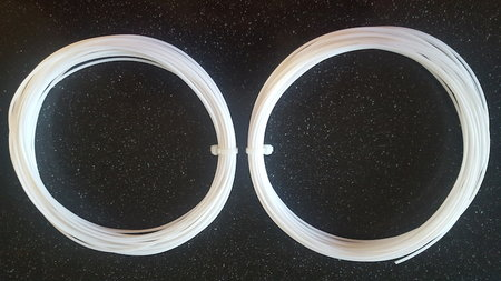 2x10m - ABS Filament wit voor 3d pen (HQ)