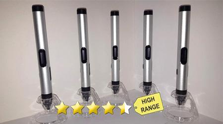 3DTECH Slimline III Automatic 3D-Stift-pen (ABS+PLA) *USB+LED+ALU*