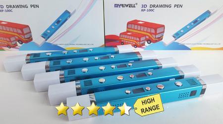MyRiwell Professional 3D penprinter (ABS & PLA!!!)