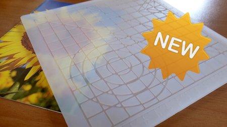Silicon3D PLATE voor 3d pen - Transparant, met groeven, tot 260graden!